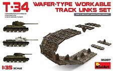 T-34 WAFER-TYPE   WORKABLE  TRACK  LINKS  SET 1/35 MINIART 35207