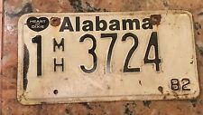 1982 Alabama Mobile Home Tag