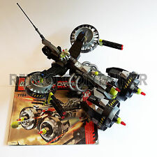 Set 100% Completo LEGO 7704 - Sonic Phantom - 2006 - Vintage Exo Force Lotto KG