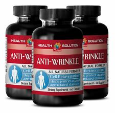 Wrinkle Reducer Capsules - Anti-Wrinkle Boost 1275mg - Organic Turmeric 3B