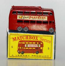 Matchbox No. 5 - London Trolleybus in Reprobox
