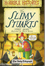 Horrible Histories - Slimy Stuarts by Terry Deary (paperback)