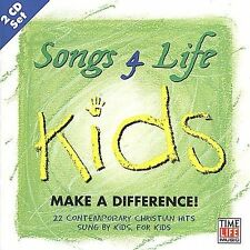 Songs 4 Life: Kids Make a Difference! by Various Artists (CD, Dec-1999, 2 Dis...