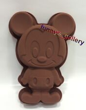 Disney 3D Mickey Mouse Silicone Cake Jelly Chocolate Muffin Ice Mold Baking Pan