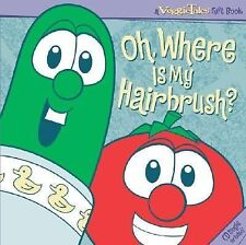 Fun Valentine or Easter  gift/VeggieTales Oh, Where Is My Hairbrush Book & CD
