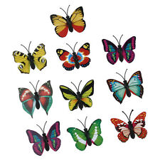 10 pcs 3D Magnetic Butterfly Fridge Home Room Wall Decor Decorative Sticker AD