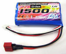 Powerhouse Rookie Challenger Battery 1500 mAh LiPo 7,4 V # T4928-22