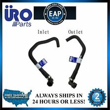 For 1999-2005 S80 2.8L 2.9L 6 Cylinder Inlet & Outlet HVAC Heater Hose New