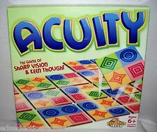 Fat Brain Toy Co 2010 ACUITY Game of Sharp Vision & Keen Thought COMPLETE!