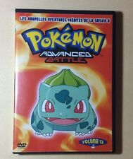 DVD Dessins Animés Pokemon Advanced Battle Volume 13