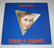 "Laurie 12"" HEAR Takin' A Chance ARIA ARD 1138 ELECTRONIC ITALO DISCO"