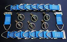 22pcs E Track Rings & Tie offs Kit Enclosed Trailer Van Cargo Trailer Toy Hauler