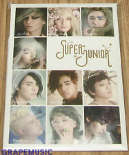 SMART SM ART EXHIBITION SUPER JUNIOR POST CARD SET SM OFFICIAL GOODS NEW