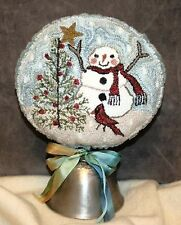 TOPPING THE TREE PUNCH NEEDLE PATTERN-FIDDLESTIX DESIGNS