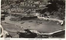 Mevagissey Air Aerial View unused RP old pc Aerofilms