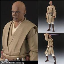 Bandai SHF S.H.Figuarts Star Wars Jedi Master Mace Windu MISB Japan Imported