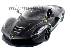 BBURAGO SIGNATURE SERIES 16901 FERRARI LaFERRARI F70 NEW ENZO 1/18 MATTE BLACK