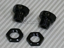 RC 1/8 Buggy Parts WHEELS HUBS + LOCK NUT
