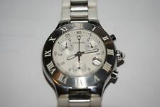 Men's Must 21 Cartier Chronoscaph Stainless Steel 2424