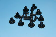 VOLVO Black Interior Panel Side Skirt Rivet Fender Liner Fastener Trim Clips