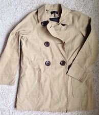 $298 J Crew Peacoat Trench Medium Women's 02769 Khaki New