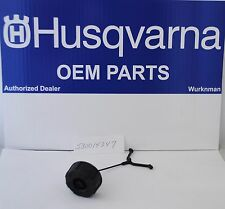 OEM Husqvarna 530014347 Fuel Cap Assembly w/Retainer for Trimmers and Blowers