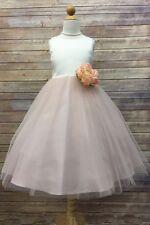 *New* Petite Adele Hannah Occasion Dress Blush Pink ~ UK 7 -8 USA 8