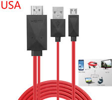 Micro USB MHL HDMI 1080P HDTV AV Cable Adapter For Samsung Galaxy Tab 3 10.1 8.0