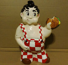 BIG BOY RESTAURANT 1936 VERSION COOKIE JAR KATHY WOLFE # 48 OF 250 MADE RARE