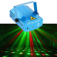 Mini Projector DJ Disco Light Stage Laser R&G Red Green Party Lighting Show