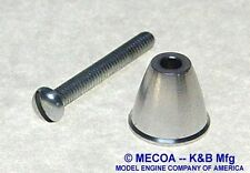 COX ENGINE .020 Aluminum SPINNER complete with screw  968-002