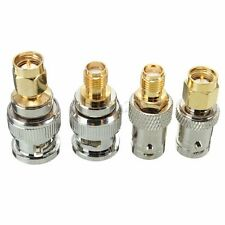 4pcs/Set BNC to SMA Type Male Female RF Connector Adapter Test Converter Kit