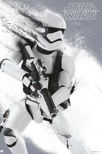 24x36 Star Wars The Force Awakens Stormtrooper Licensed Poster shrink wrapped