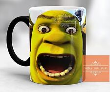 ANGRY SHREK FUNNY AWESOME MAGIC COLOR CHANGING COFFEE MUG TEA CUP CHRISTMAS GIFT