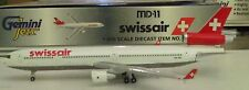 Gemini Jets 1:400   Swissair Airlines MD-11   HB-IWO -    GJSWR153