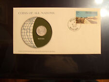 Coins of All Nations Mauritania 1/5 Ouguiya 1973 UNC