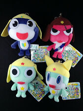 Sgt. Frog Keroro Gunso Plush Doll Key Chain Complete set of 4 official RUN'A