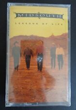 MIDSOUTH Lessons of Life NEW Music Cassette 1992 Free Shipping SEALED