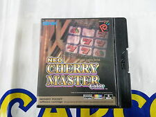 SNK NEO GEO POCKET GAME NEO CHERRY MASTER (ENGLISH VERSION USED)