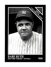 Babe Ruth 1995 Conlon Sporting News Cooperstown Collection #1571  VERY RARE