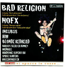NOFX Italy promo only cd compilation Bad Religion Incubus Him punk rock 2000