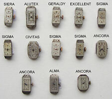 SIGMA Lot Woman WRISTWATCH MOVEMENT no Running SIERA GERALDY CIVITAS ANCORA ALMA