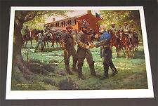 Robert Summers -The First Meeting AP Print - Collectible Civil War Print