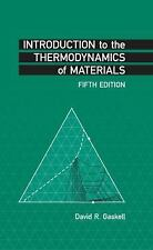 New-Introduction to the Thermodynamics of Materials by Gaskell 5ed- INTL ED