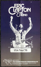 ERIC CLAPTON REPRO 1978 AMERICA USA CONCERT TOUR POSTER . NOT CD DVD