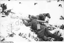 German Troops Rocket Tank Rifle Russia 1944 World War 2 Reprint Photo 6x4 Inch