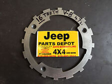 JEEP DODGE  4.7 L. RELUCTOR RING 16 TEETH TONE WHEEL CRANK SHAFT 8 CYLINDER