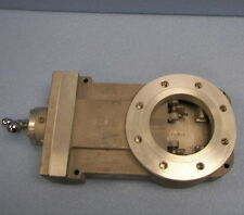 "MDC Vacuum Research Chamber Manual Gate Valve 4"" ASA Varian H.V.A."