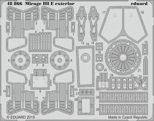 Eduard PE 48866 1/48 Dassault Mirage IIIE exterior Kinetic C