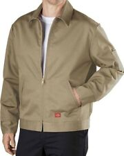 DICKIES TJ15 LINED EISENHOWER MENS WORK JACKET/COAT Khaki 4XL